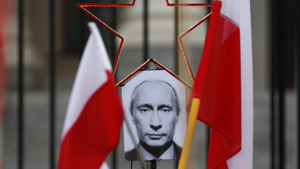 Putin - PETER ANDREWS / REUTERS