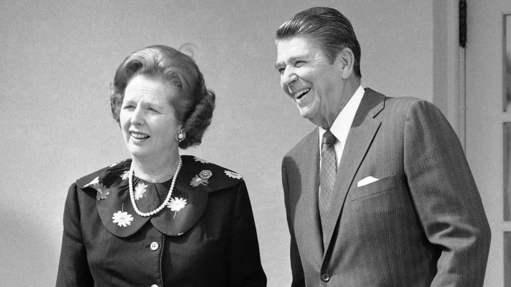 Reagan ED REINKE / AP